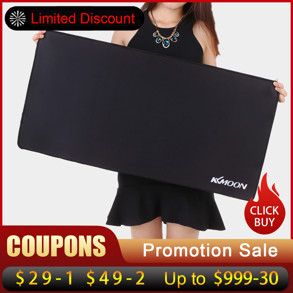 KKmoon Large Size mouse pad Anti-slip Natural Rubber PC Computer Gaming mousepad Desk Mat for LOL surprise cs go overwatch DOTA2-0