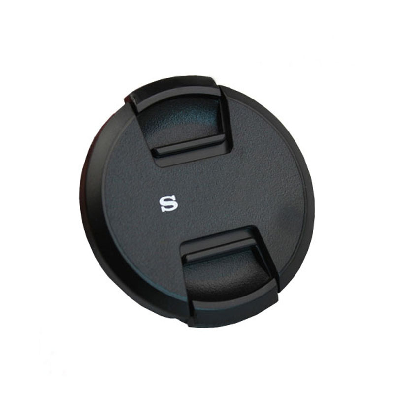 High-quality 40.5 49 52 55 58 62 <font><b>67</b></font> 72 77 82mm center pinch Snap-on <font><b>cap</b></font> cover logo for SONY camera <font><b>Lens</b></font> image