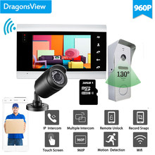 Dragonsview 960P Wifi Video Intercom Draadloze Video Deurtelefoon Deurbel Camera Mobiele App Unlock Record Cctv Camera