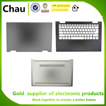 Nuevo para Lenovo YOGA C740-14IML YOGA C740-14 LCD Bakc cubierta/Upper Case Palmrest cubierta/fondo/teclado/fondo/Touchpad