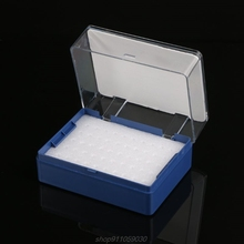 Plastic Storage Box With Foam Milling Cutter Organizer For 50 PCB Drill Bits  N13 20 Dropshipping