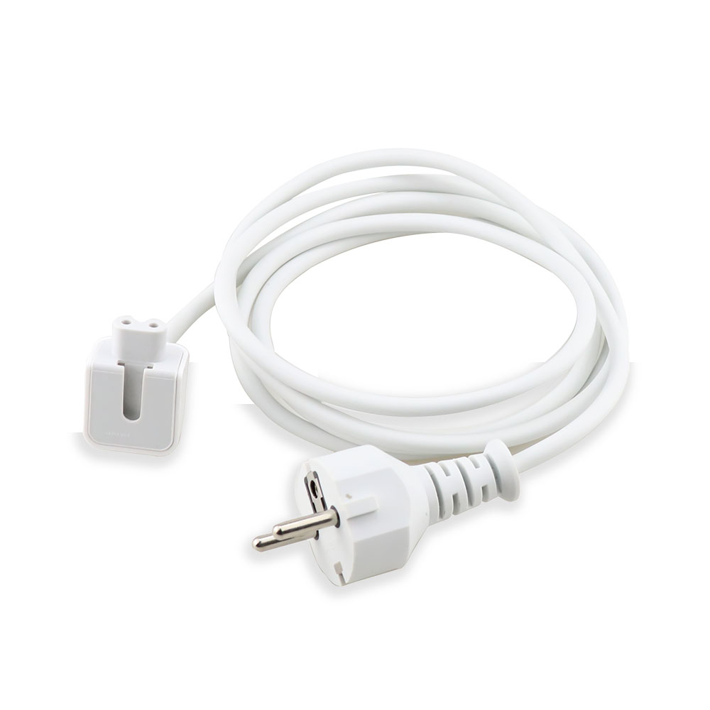 High Quality 1pcs EU Plug Extension Cable Cord For MacBook Pro Air Charger Cable Power Cable Adapter