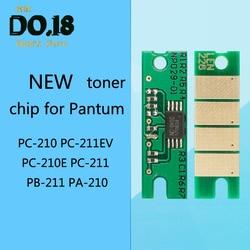 1pc czip tonera dla Pantum P2207 P2500 P2505 P2200 M6200 M6550 M6600 PC 210 PC 211EV PC 210E PC 211 PB 211 PA 210 chipy w Części drukarki od Komputer i biuro na