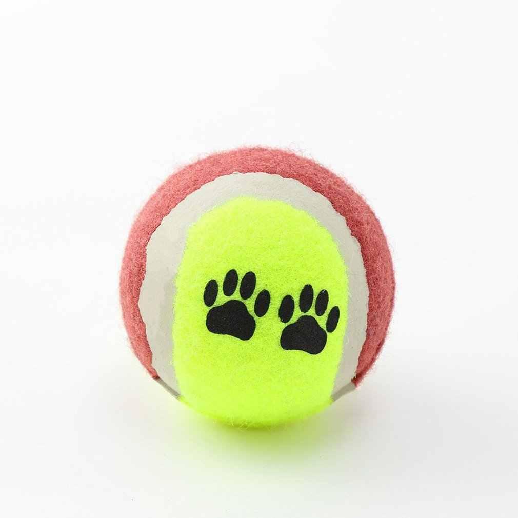 صغيرة حجم 65 مللي متر كلب القط لعبة رواج كرات التنس Run الصيد رمي اللعب مضحك مضغ الحيوانات الأليفة لعب الحيوانات الأليفة لوازم