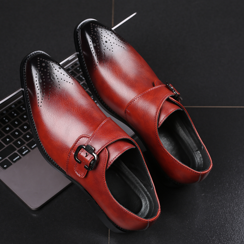 Plus Size 38 48 Men Wedding Party Shoes 2019 Italian Dress Shoes High Quality Casual Loafer