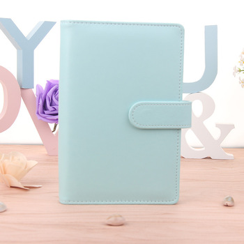 Fromthenon A6 A5 Notebook Cute Ring Diary Leather Cover Journals Office Personal Binder Weekly Planner Agenda Organizer personal organizer leather business ring office binder notebook cute kawaii agenda planner 2019 travel journal a6