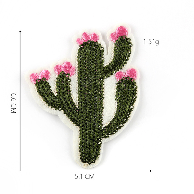 Cute Cactus Patch for Clothing