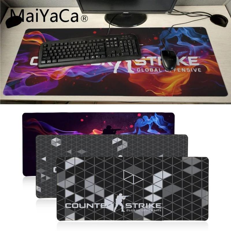 Maiyaca Cool New Cs Go Logo Counter Strike Design Laptop Gaming Mousepad Big Promotion Russia Gaming Mouse Pad Notebook Desk Pad Mouse Pads Aliexpress