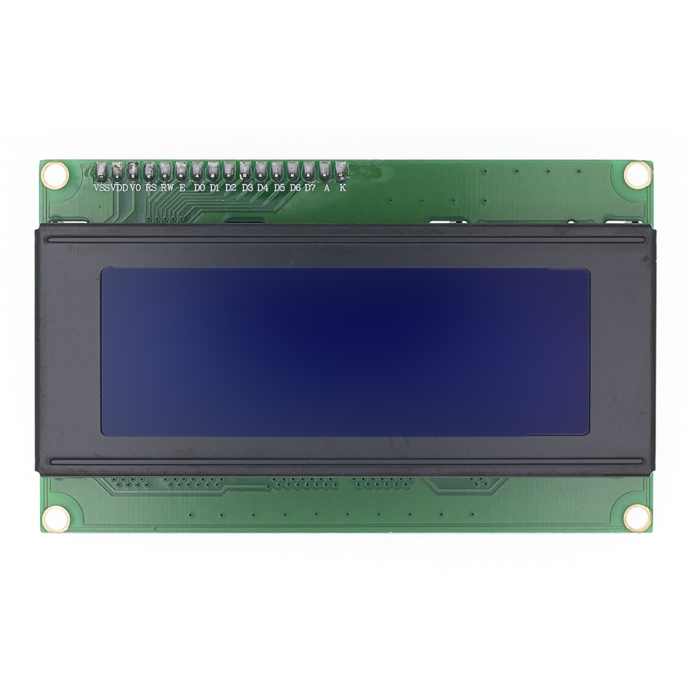 10pcs LCD Module Blue/Greed 2004 5V LCD Blue Provides Library Files LCD 2004 LCD2004