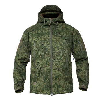 MEGE Men's Military Camouflage Fleece Tactical Jacket Men Waterproof  Softshell Windbreaker Winter Army Hooded Coat Hunt Clothes 6
