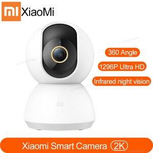 Image 1 - החדש Xiaomi 1296P IP מצלמה 2k גרסה 360 תואר FOV ראיית לילה 2.4 ghz Dual band wifi Xiaomi בית ערכת אבטחת צג
