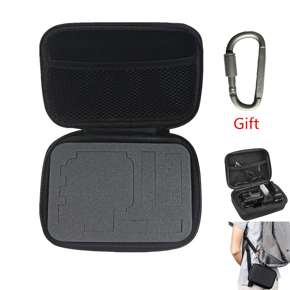 Small Size Protective Carrying Storage Case For Osmo Action Camera For GoPro Hero 8/7/6/5/4/3+/3/Hero(2018)/Fusion For YI & ENEK