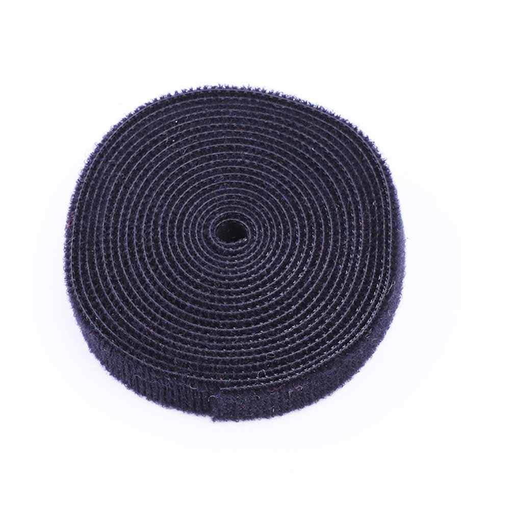 10mmx5m Nylon Cable Manager Winder Ties With Label Brand Belting Ribbon Wire Binging Strap Seals