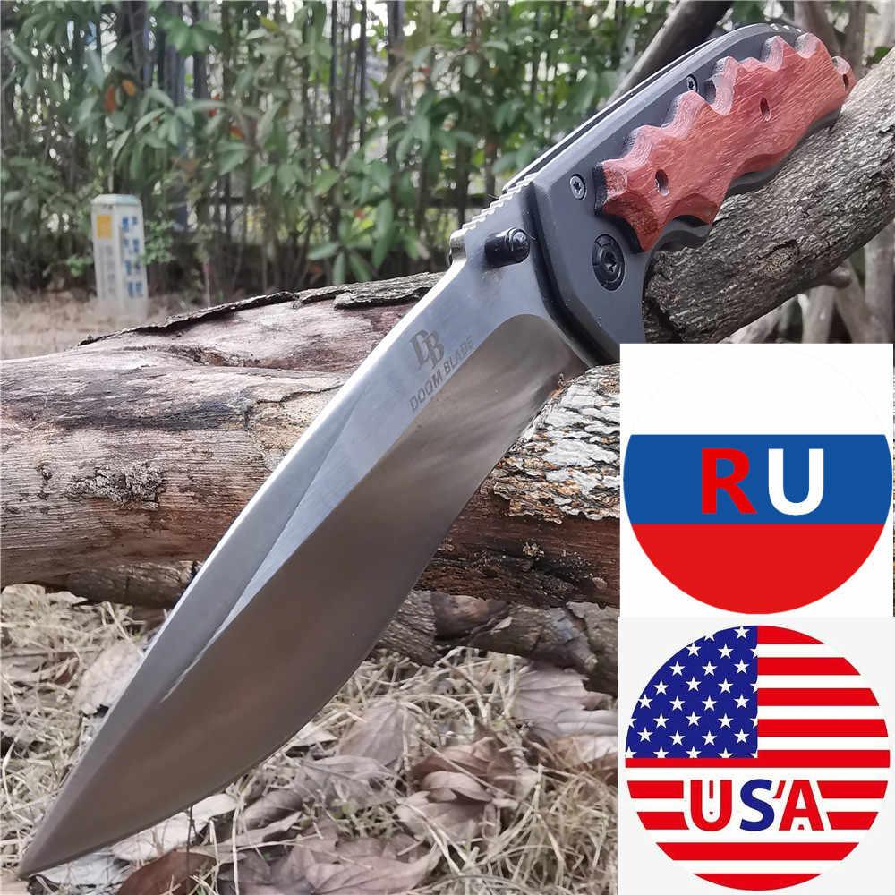 8CR13MOV شفرة سكين للفرد سكينة تكتيكية EDC أدوات جيدة للصيد التخييم بقاء في الهواء الطلق والحمل اليومي