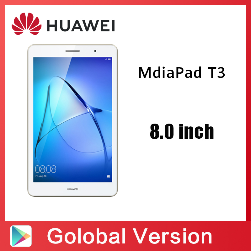 Global Version HUAWEI MediaPad T3 8 WIFI Tablet 2 Huawei Honor Tablet 8.0 Inch IPS SnapDragon 425 Quad Core Andriod 7.0 4800mah