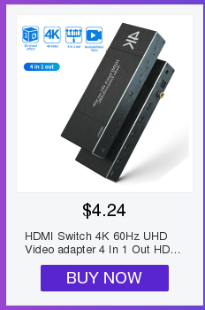 H8af071bfd9594c32b68881dd31813604S HDMI Switch 2.0 4K 60HZ HDR HDMI Splitter Switch 4 In 1 Out HDMI Switcher Audio Extractor ARC & IR Control For PS3 PS4 HDTV