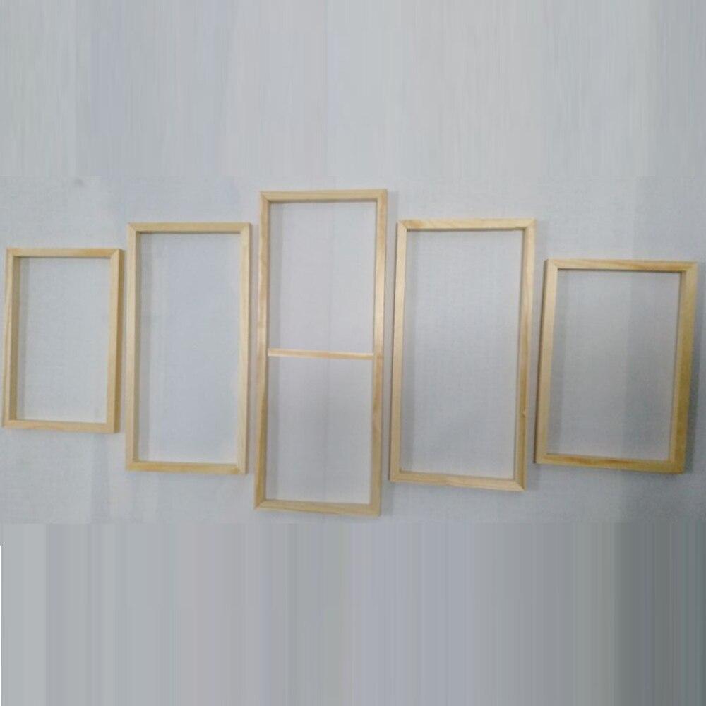 5 Панель деревянная рамка для Холст Картина маслом инструмент изготовленный на заказ DIY деревянный каркас стены искусства