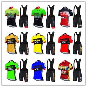 Summer Cycling Jerseys 2020 LOTTO Men Team cycle Wear Short Sleeve Bike Clothing Maillot Ropa Ciclismo Uniformes Biking Clothes