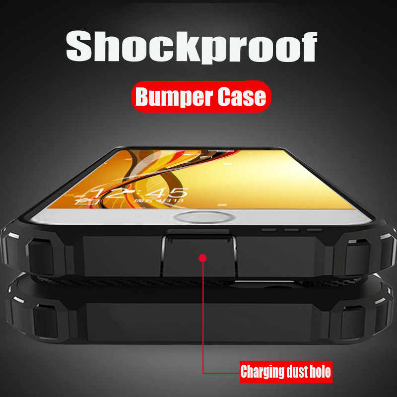 Luxury Shockproof Protection Phone Case For Iphone 8 7 6 6S Plus Full Cover Armor Case For Iphone X XR  XS Max XS Bumper Cases