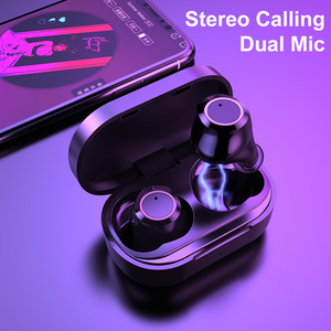 Image 4 - AWI W6 TWS Bluetooth 5.0 Earphones Touch Control Headsets HD Stereo Handsfree Wireless Headphones With Dual Mic Noise Isolation