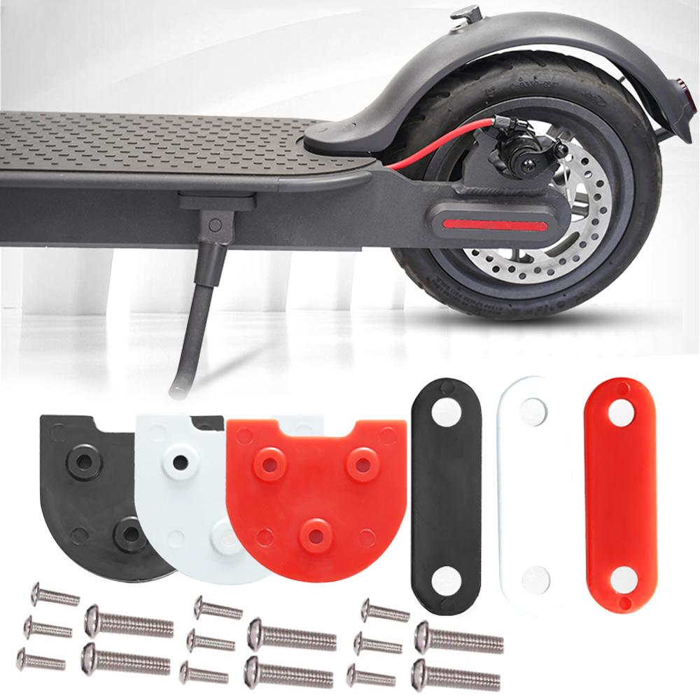 For Xiaomi M365 Pro/M365 Scooter Fender Gasket Heightening Pad Foot Stand Booster Pad Taillight Gasket Kit