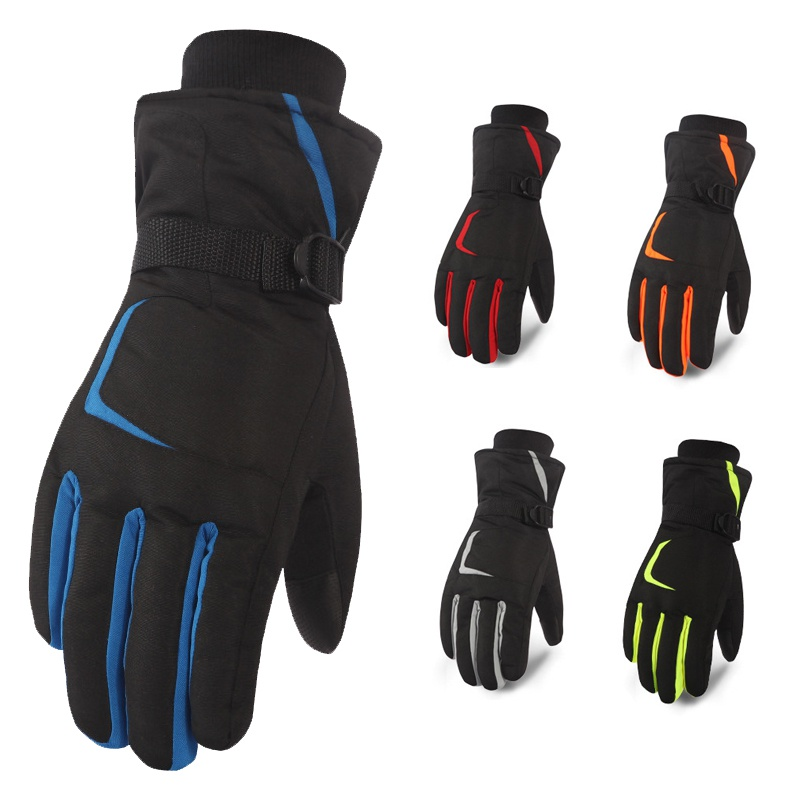 Unisex Ski Gloves  Winter Touch Screen Snowboard Motorcycle Riding Gloves Outdoor Windproof Waterproof Gloves