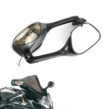 цена на With Turn Signal Light LED Light Motorcycle Rear view Side Mirrors For Suzuki GSXR600 GSXR750 GSXR1000 K6 K7 K8 2006 2007 2008