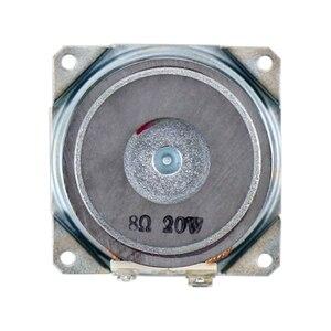 Image 5 - 2 inç 20W tam aralıklı Subwoofer hoparlör 8ohm PP lavabo refleks kumaş kenar çift manyetik uzun strok masaüstü DIY 1 çift