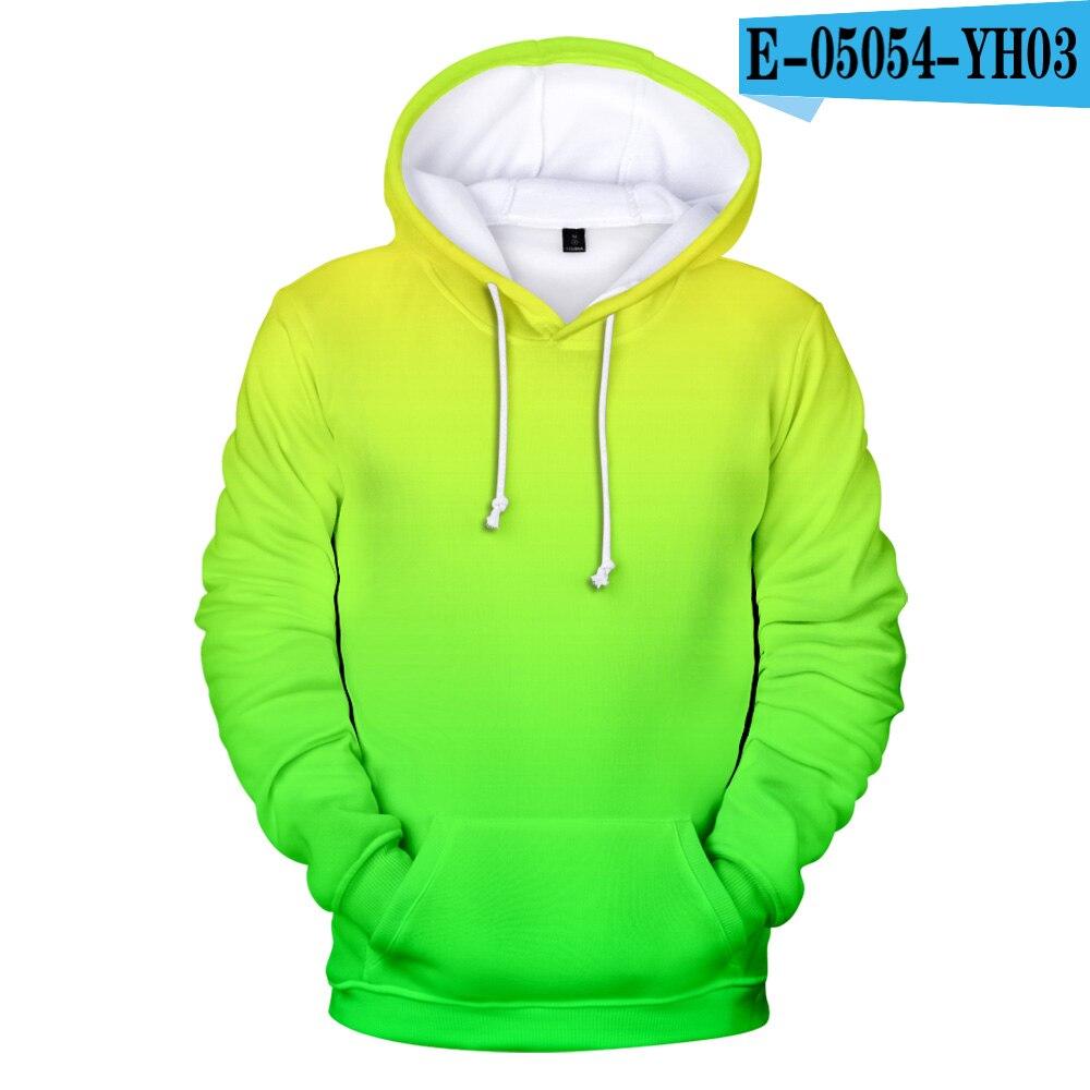 Neon Green Hoody Men/women Harajuku Clothes Store For Customization 3D Hoodie Sweatshirt Street Colorful Print Hip Hop Trend 4XL