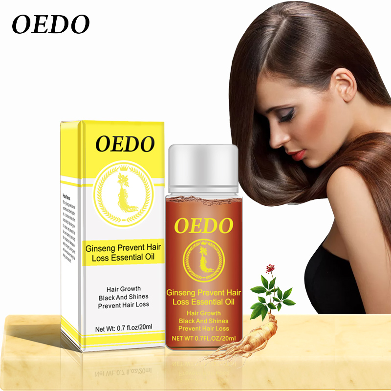 Ginseng Hair Growth Anti-off Essential Oil Repair Damage Hair Speed Promotes Hair Growth Nourish Thick Roots Repair Dry Hair