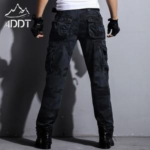 Image 2 - Jeans militaires européens, pantalon de Camouflage pour homme, nombreuses poches, Style militaire tactique des Forces masculines