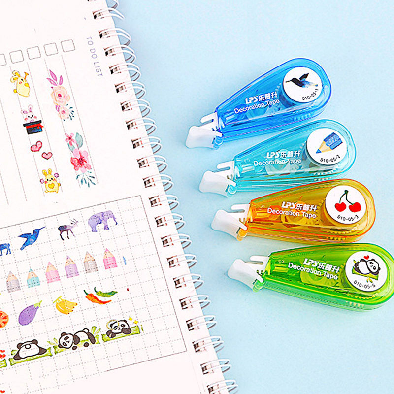 Cute Cartoon Decorative Correction Tape Kawaii Panda Decoration Tape For Kids School Scrapbooking Diary Gifts Stationery