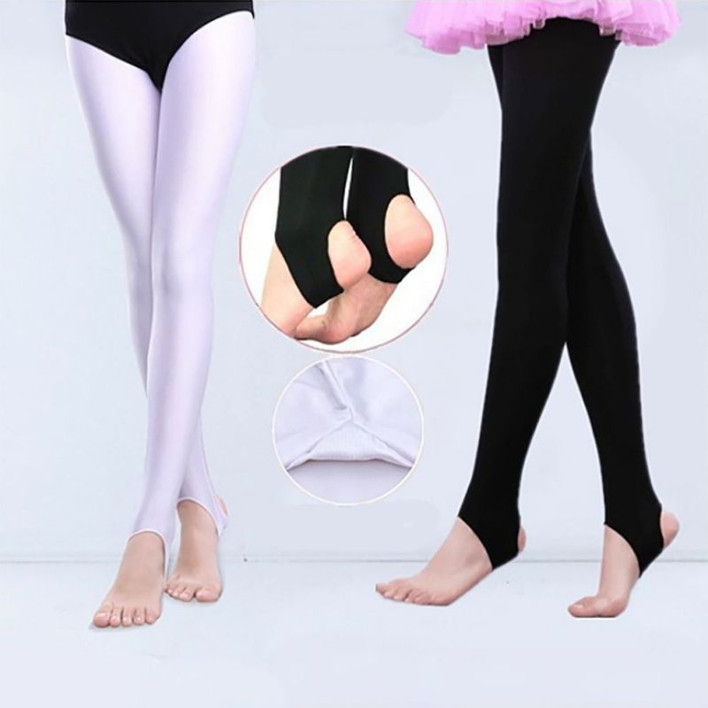 New Girl Kids Dance Pants Bodybuilding Gymnastics Ballet Wild Pants High Elastic Body Practice Leggings Pants