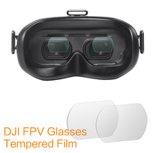 Sunnylife Tempered Glass Film Combo for DJI FPV Goggles V2 Protector Film for DJI FPV Drone Combo Accessories