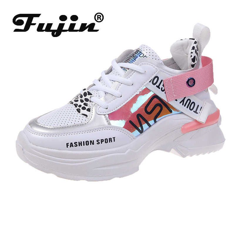 Fujin Women Sneakers 2020 Casual Shoes Breathable High Quality Comfortable Female Ladies Platform Shoes Sneakers For Women