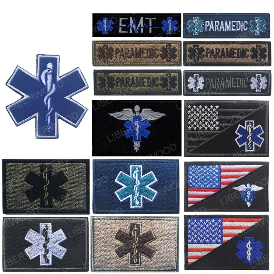 Star of Life Paramedic Decal EMT Medic EMS Rescue Fire Ambulance Medical
