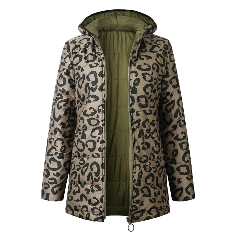 2019 New women   jacket   coat autumn winter zipper pocket loose women coats warm   basic     jacket   casaco feminino outwear streetwear