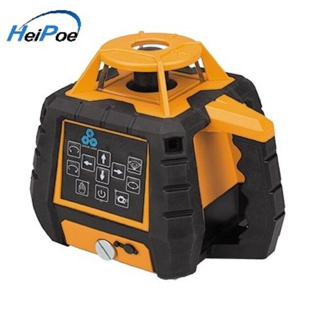 Niveau Laser vert rotatif auto-nivelant de haute précision HP208G/ 3D niveau Laser rotatif à faisceau vert 360 m à 500 degrés
