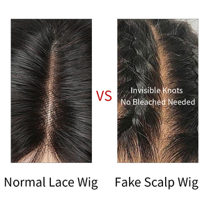 Image 4 - Fake Scalp Wig 13x6 Lace Front Human Hair Wigs Pre Plucked Brazilian Hair Straight Lace Front Wig Oxeye girl Remy Hair Wigs