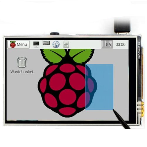 New 3.5 Inch TFT LCD Touch Screen Display 32MHz 128MHz SPI  For Raspberry Pi 4 Model B 3B+ 3B