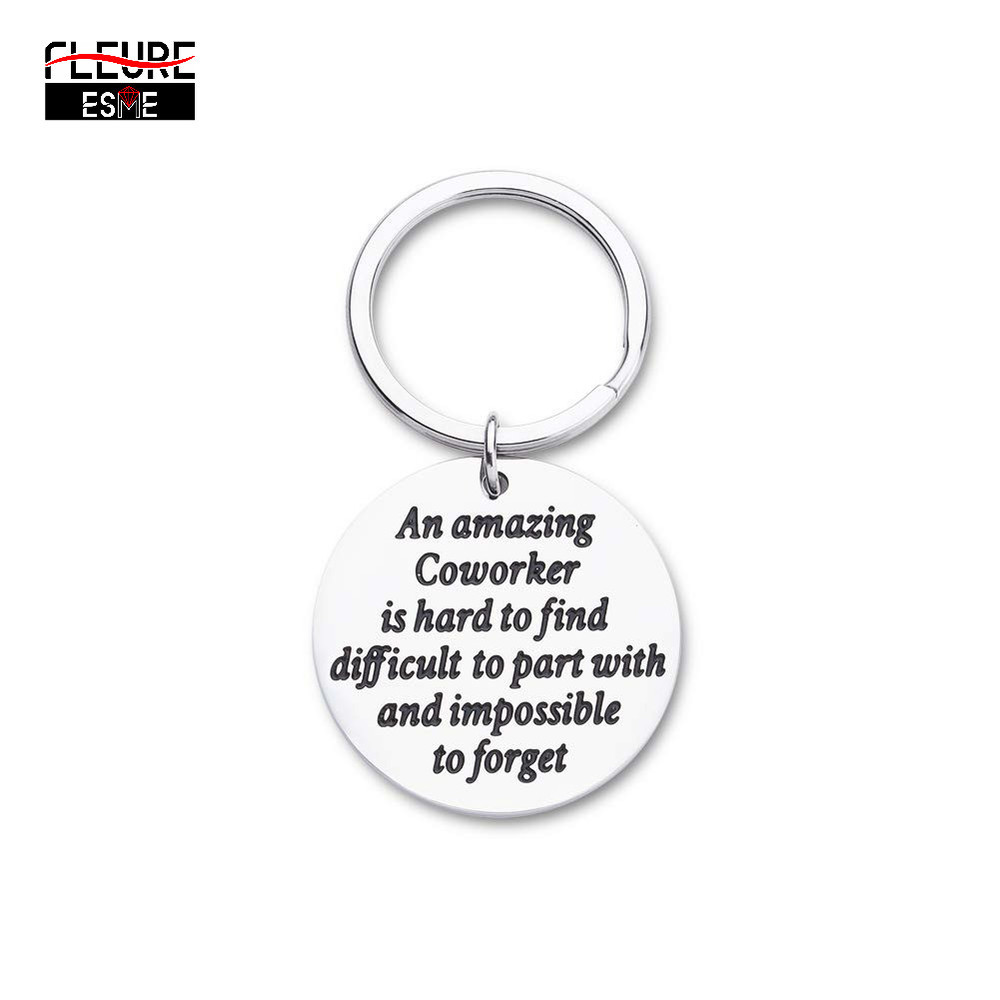 Coworker Gifts for Men Women Keychain Appreciation Gifts Farewell Gifts for Best Coworker Supervisor Boss Colleagues Retirement Leaving Gifts Going Away Gifts Goodbye Gifts Thank You Gifts