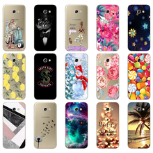 For Samsung A5 2017 Case Soft Silicone Phone Case for Samsun