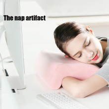 Memory Foam Office Nap Pillow Neck Protection Desk Sleeping Pillows Relief Cervical Health Care For Home Textile