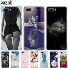 Silicone phone Case For huawei honor 10 case soft tpu back cover for honor10 Cases Coque Etui full 360 protective pop