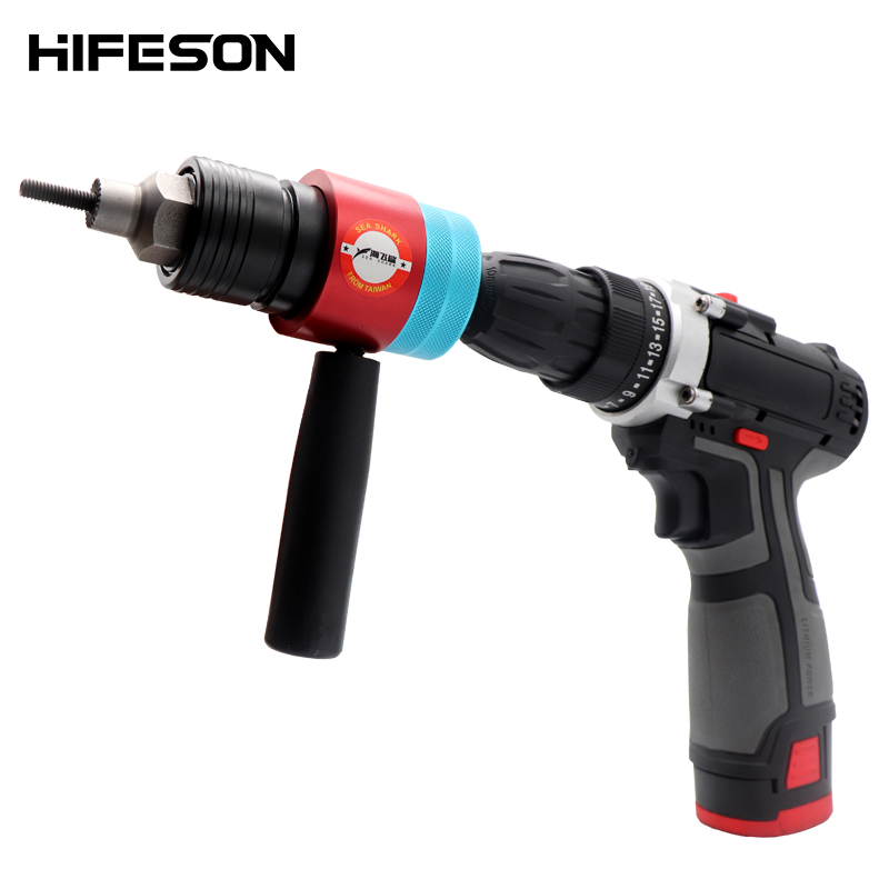 Electric Rivet Nut Gun Adapter Automatic Insert Threaded Rivnut nut Tool Riveting M3 M4 M5 M6 M8 Nuts
