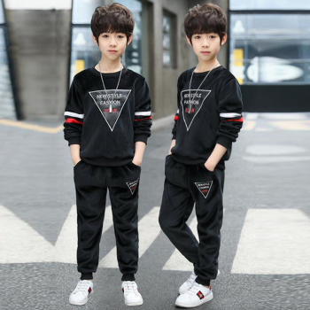 3pcs baby boys clothes sets winter fall birthday outfit toddler cloth kids sport suit for boys cotton warm hoody vest 0 6 years Children Clothing Autumn Winter Boys Clothes Tops+Pants Outfit Kids Sports Clothes Suit For Boy Clothing Sets 5 6 8 10 12 Years