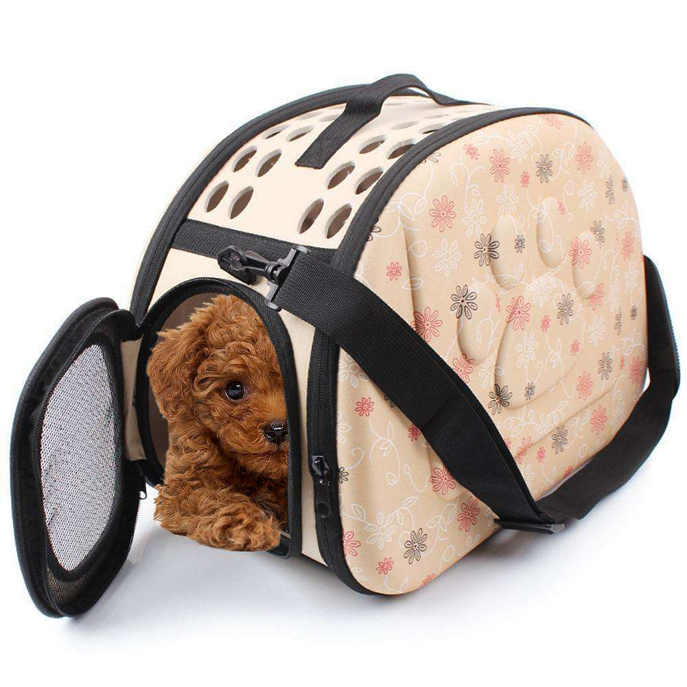 New Foldable Pet Carrying Bag Dog Cat Puppy Breathable Carrier Outdoor Travel Shoulder Handbag Space Capsule