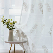 Tulle Curtains for Living room the Bedroom Sheer Curtains for Kitchen Window Screening  Customize Finished Drapes Voile Curtain цена и фото