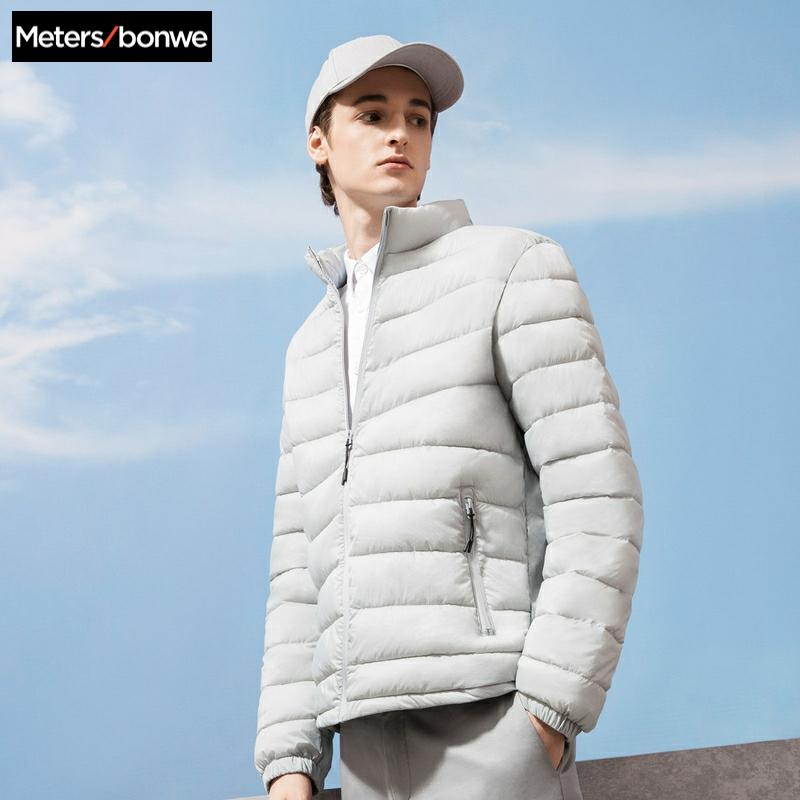 Metersbonwe Padded Coat Men 2019 Winter New Student Light Cotton Clothes Youth Jacket Men