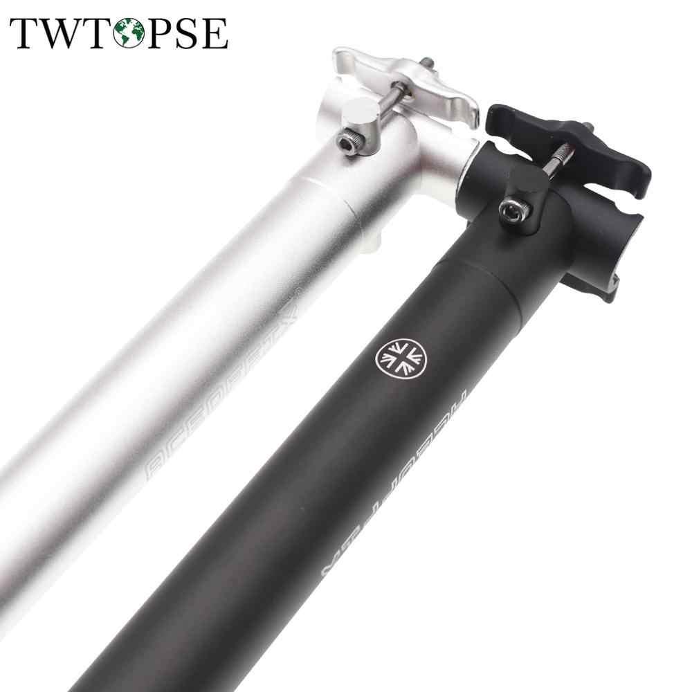535mm 580mm 600mm 31.8mm offset Titanium Seat post for Brompton Bike